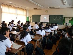 体験入学の様子 平成30年8月7日(火)